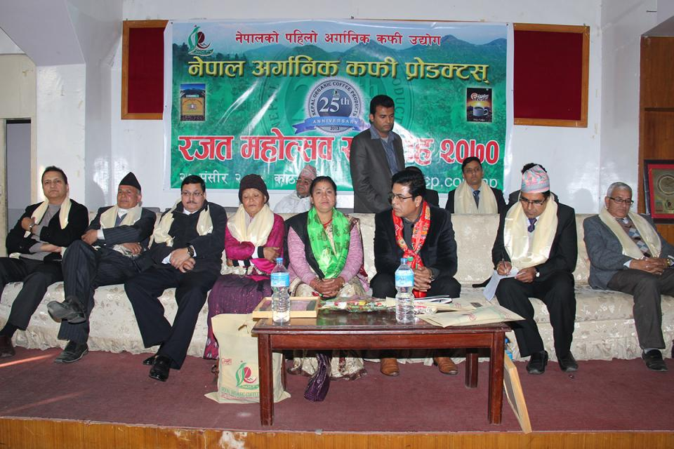 25th anniversary Nepal Organic Coffee Products