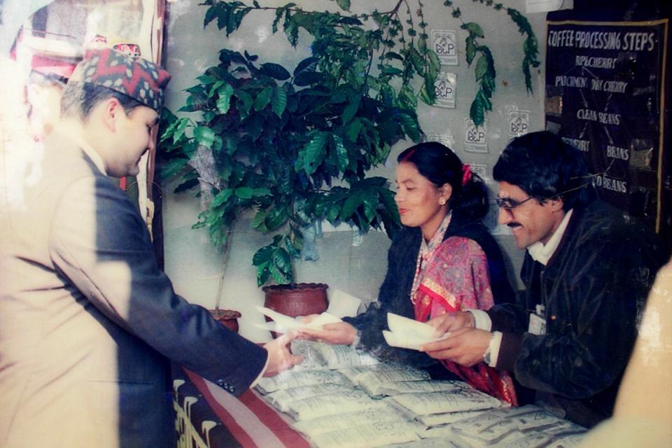Nepal Organic Coffee Products- Dipendra Bir Bikram Shah